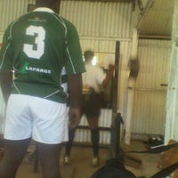 Photo taken at Mwamba Rugby Football Club by Kevin W. on 3/26/2012