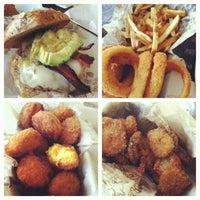 Photo taken at Bareburger by Sarah L. on 6/15/2012