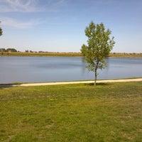 Photo taken at Lake Petocka by Stephanie G. on 8/21/2012