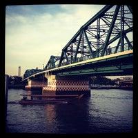 Photo taken at Memorial Bridge by สิบเอก บรรเจิด พิทยาประทีป on 5/1/2012