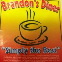 Photo taken at Brandon's Diner by Abraham G. on 3/24/2012