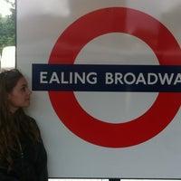 Photo taken at Ealing Broadway Railway Station (EAL) by Petra F. on 7/11/2012