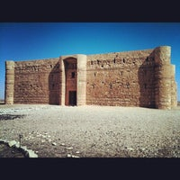Photo taken at Qasr Kharana by Viviana B. on 8/18/2012
