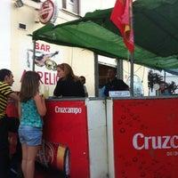 Photo taken at Terraza de Bar Aurelio - Mérida by Arild H. on 6/10/2012