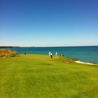 Photo taken at Whistling Straits Golf Course by Clayton Q. on 8/6/2012
