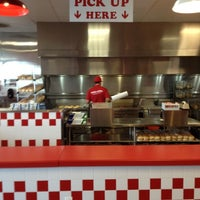 Photo taken at Five Guys by Brian T. on 6/12/2012