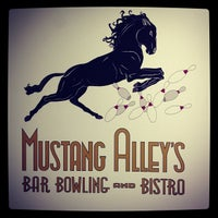 Photo taken at Mustang Alleys by Caressa v. on 8/27/2012