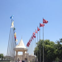 Photo taken at Konya Cemetery Museum by Murat E. on 7/14/2012