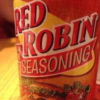 Photo taken at Red Robin Gourmet Burgers by Eric G. on 3/31/2012