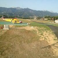 Photo taken at Aeroclub Marina di Massa by Jean-Pierre B. on 6/29/2012