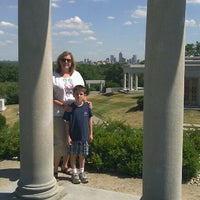 Photo taken at James Whitcomb Riley's Grave Site. by Jason P. on 6/22/2012