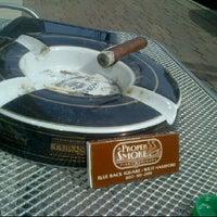 Photo taken at A Proper Smoke by Thomas R. on 3/24/2012