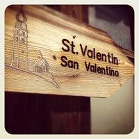 Photo taken at San Valentino by Matteo R. on 4/21/2012