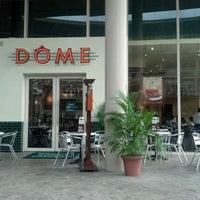 Photo taken at DÔME Café by Lotus M. on 7/8/2012