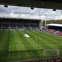 Photo taken at Ewood Park by Laurence E. on 4/21/2012