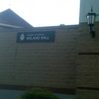 Photo taken at Hyland Hall (University of Scranton) by Shannon G. on 4/13/2012