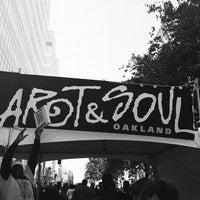 Photo taken at Oakland Art & Soul by Lamar G. on 8/6/2012