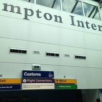 Photo taken at Southampton Airport (SOU) by Olly B. on 8/20/2012
