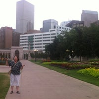 Photo taken at Cinco In The Park! by Gina B. on 8/13/2012