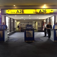 Photo taken at Gate A26 by Ed G. on 8/7/2012