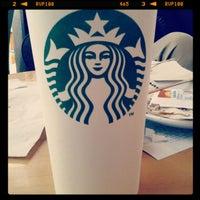 Photo taken at Starbucks by Luzma A. on 5/1/2012