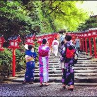 9/1/2012にSan T.が貴船神社で撮った写真
