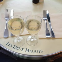 Photo taken at Les Deux Magots by Antonio M. on 8/4/2012