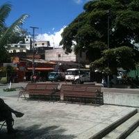 Photo taken at Plaza Bolívar by 🐇 on 2/9/2012