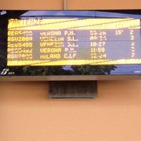 Photo taken at Stazione FS San Bonifacio by Nicola Z. on 7/30/2012