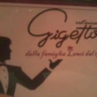 Foto tirada no(a) Gigetto por Fernanda F. em 7/6/2012