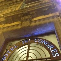 Photo taken at Hôtel du Congrès by Santiago M. on 4/17/2012