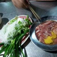 Photo taken at อร่อยจังหมูจุ่ม by Chitpong W. on 4/15/2012