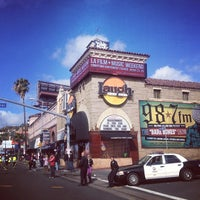 Photo taken at Laugh Factory by Rebecca G. on 3/18/2012