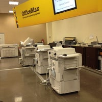 Photo taken at Office Max by Javier S. on 3/2/2012