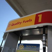 Photo taken at Shell by Gentry on 9/4/2012