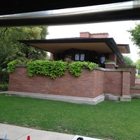Photo taken at Frank Lloyd Wright Robie House by Ashley K. on 8/16/2012