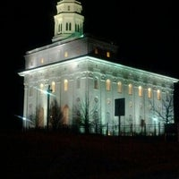 Photo taken at Nauvoo Illinois Temple by Leslie L. on 3/11/2012