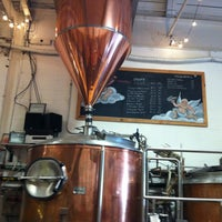 Photo taken at Defiant Brewing Co. by Lara on 5/4/2012