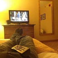 Photo taken at Albany Marriott by Jasen H. on 3/21/2012