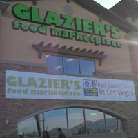 Photo taken at Glazier's Food Marketplace by Delain R. on 2/21/2012