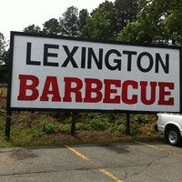 Photo taken at Lexington Barbecue by Ubiquitous N. on 5/29/2012