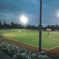 Photo taken at Canchas de entrenamiento del Estadio San Carlos de Apoquindo. by Joaquin G. on 6/12/2012