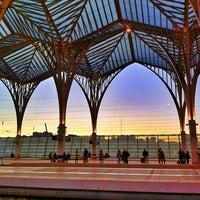 Photo taken at Estação Ferroviária da Gare do Oriente by Hugo E. on 2/13/2012