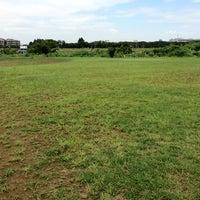 Photo taken at スリオンテックグラウンド by Yukihisa M. on 8/18/2012