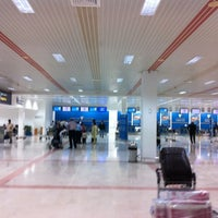 Photo taken at Oman Air Check-in by Ash A. on 2/20/2012