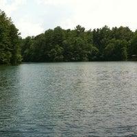 Photo taken at Lake Julian by Jeff L. on 6/20/2012
