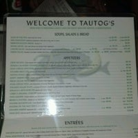 Photo taken at Tautog's Restaurant by Kavik B. on 7/1/2012