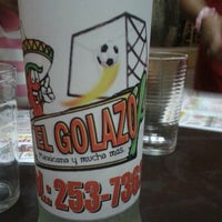 Photo taken at El Golazo by Lourdes M. on 8/18/2012