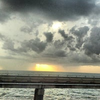 Photo taken at Lake Pontchartrain Causeway by John L. on 8/16/2012