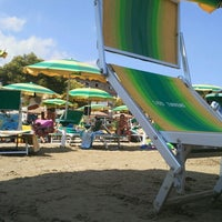 Photo taken at Lido Tirreno by Andrea P. on 8/15/2012
